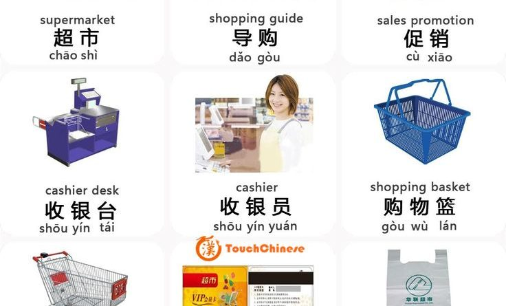 Chinese Words For Supermarket